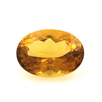 Béryl jaune Héliodore. 3.95 cts.
