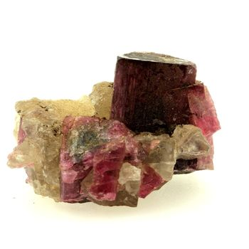 Tourmaline + Quartz. 38.5 ct.