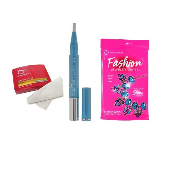 Pack 15 Fashion Wipes + 25 Lingettes + Stick pour diamants.