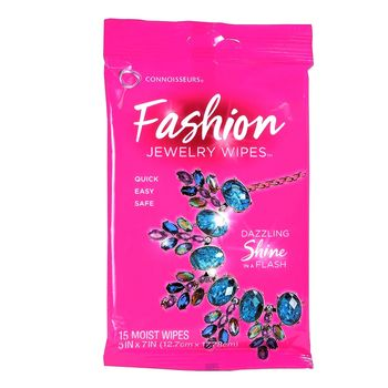 12 pcs. Cleaning wipes for Fashion Jewellery. 15 wipes.