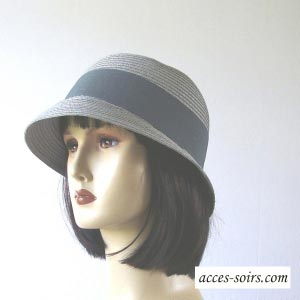 Lovely cloche hat