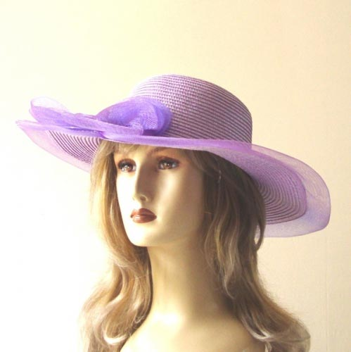 Easy tro wear beach or wedding hat - 5 colours