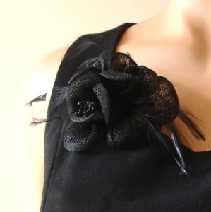 Head pin/ dress brooch : 10 colours