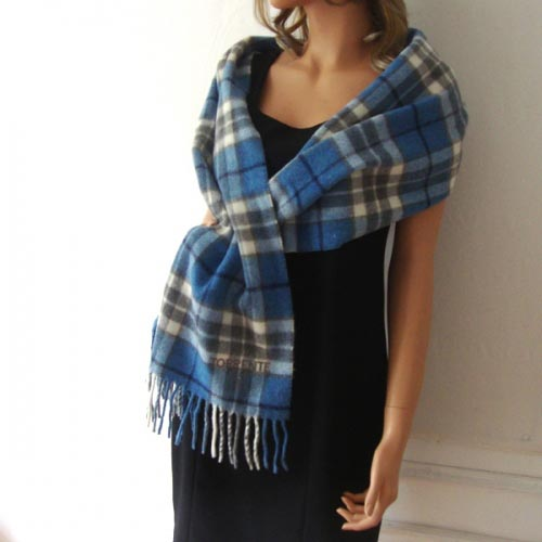 Torrente lambswool light blue scarf
