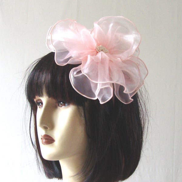 Flower headband - black flower out of stock