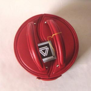 Jewel box yin and yang round and red