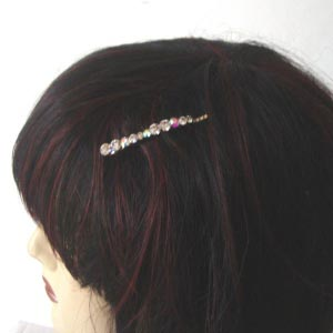 Rhinestone hair pin