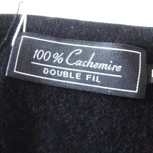 100 % cashmere black jacket/cardigan