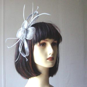 "Wedding sinamay headband ""pretty"" - 6 COLOURS"