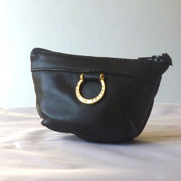 Small coin purse lamb leather