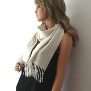 Scarf - 100 % cashmere - 6 colours!