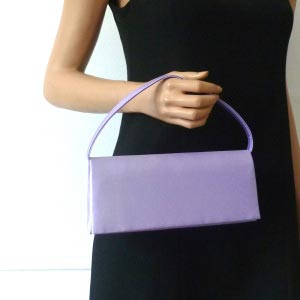 Parma, mauve evening bag