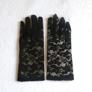 Stretchable wrist gloves