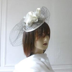 Headwear with veil