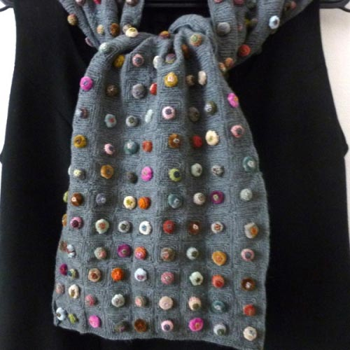 Large Sophie Digard's scarf