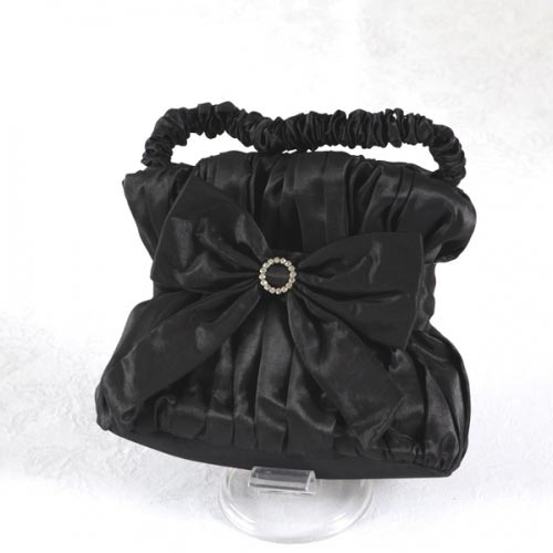 Matching stole and evening bag