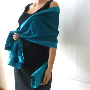 Wholesale matching stole and clutch