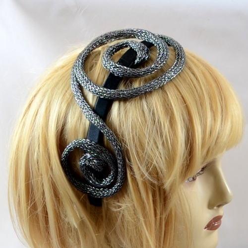 "Headband Ophelie creations modèle ""wire""- Or en rupture"