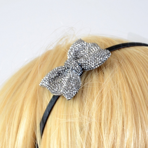 "Headband serre-tête ""Karin"" papillon strass grand"