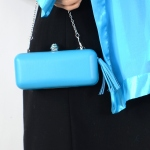 """Minaudière"" leather imitation with tassel - 5 COLOURS!"