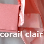Classical wedding clutch : a choice of about 30 colours