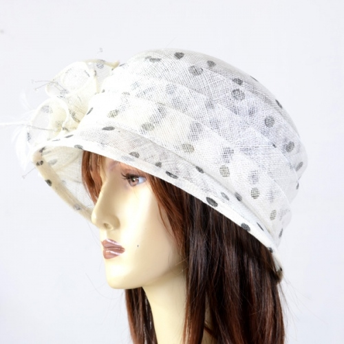 Charming cloche hat