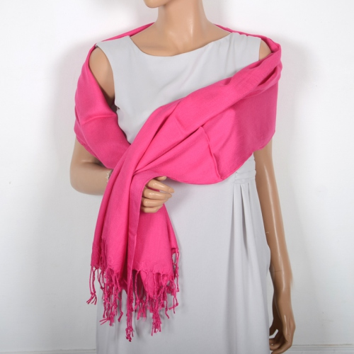 Large shawl silk and viscose - 7 colours!