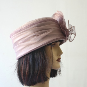 Wedding light lilac hat