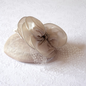 Wedding fascinator - 3 COLOURS!