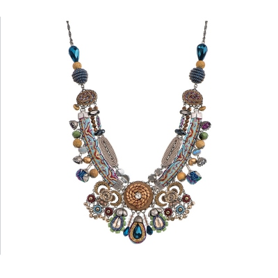 "Beautiful necklace Ayala Bar ""Golden Dawn Energy"" - limited edition"