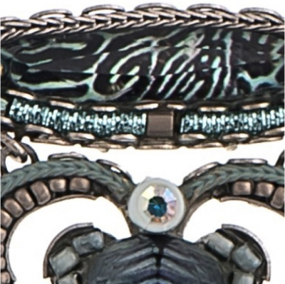 "Broche Ayala Bar bijou ""Clearwater Ripple"""