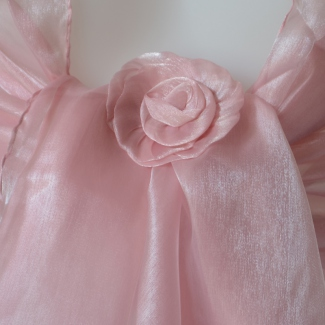 Wedding or evening light pink stole