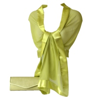 PARTNER LOOK lime green accessories for her and for him