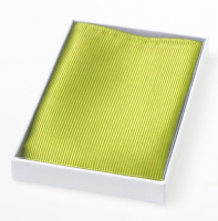 Pocket square for him - 100% one colour silk - 15 colours