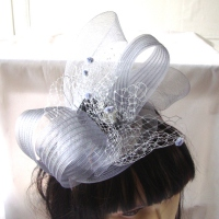 Fascinator - for weddings, dressy evenings, cocktails, or on board a cruise ship, 5 colours