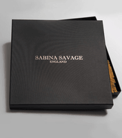 "Sabina Savage square scarf - 100 % silk twill - 90 x 90 cm - ""The Cranes of Canton"""