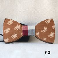 Wooden bow ties - NEW!