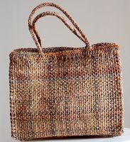 Sophie Digard - Middle size tote bag - hand woven raphia