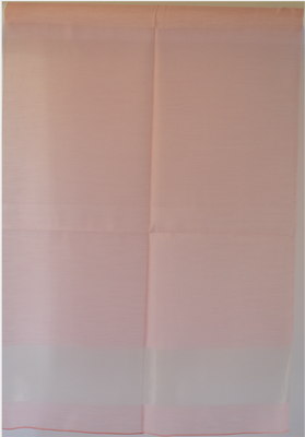 Light pink and gold organza wrap for weddings, evenings, formal dressing
