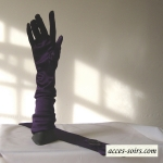Long wedding, evening, opera gloves - satin or laces