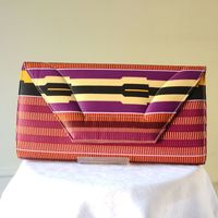 Large african wax clutch