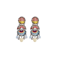Ayala Bar - earrings for pierced or unpierced ears - pastel hues