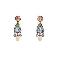 Ayala Bar - Earrings, earpendants - pastel colours - for pierced ears