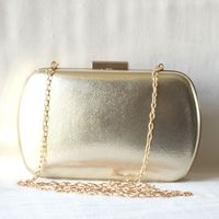 Evening, wedding clutch gold