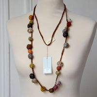Sophie Digard - long necklace/sautoir with little balls