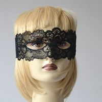 Black laces mask for a masked ball or for the Venice carnaval