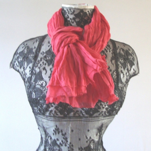 Long summer foulard - 4 colours