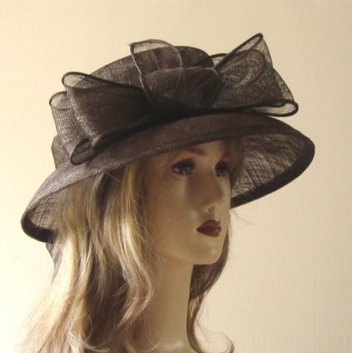 Popular little sinamay hat