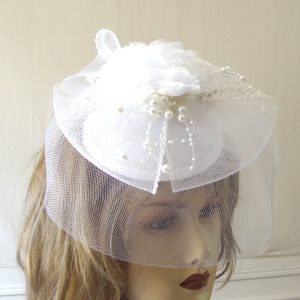 Little hat crinoline, pearls and laces