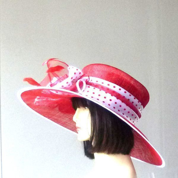 Grand chapeau bicolore